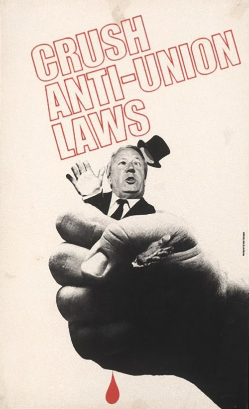 Crush Anti Union Laws Poster_e