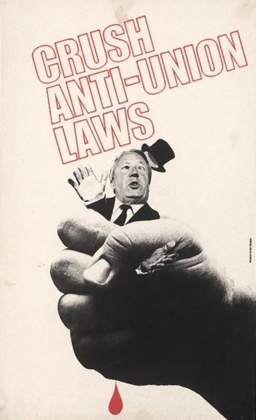 Crush Anti Union Laws Poster_e