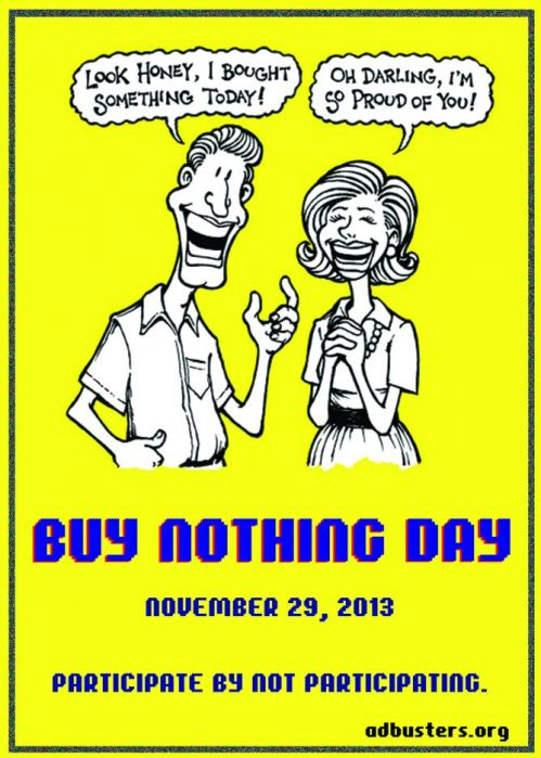 2013 Buy Nothing Day