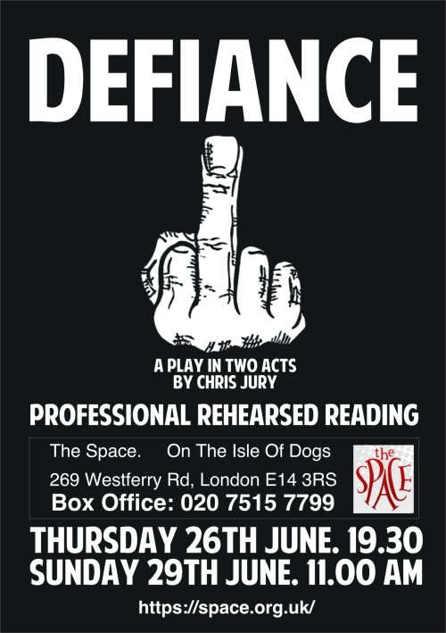 Defiance Poster The Space